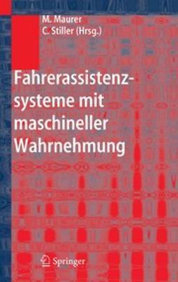 Maurer, Markus - Fahrerassistenzsysteme mit maschineller Wahrnehmung, ebook