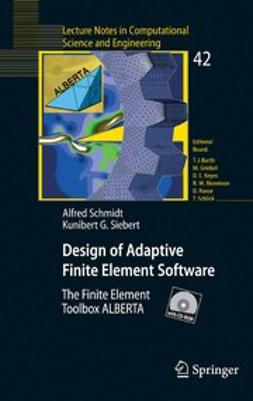 - Design of Adaptive Finite Element Software, ebook