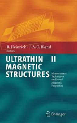 Bland, J. Anthony C. - Ultrathin Magnetic Structures II, ebook