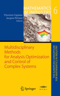 Capasso, Vincenzo - Multidisciplinary Methods for Analysis Optimization and Control of Complex Systems, e-bok