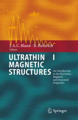 Bland, J. Anthony C. - Ultrathin Magnetic Structures I, ebook