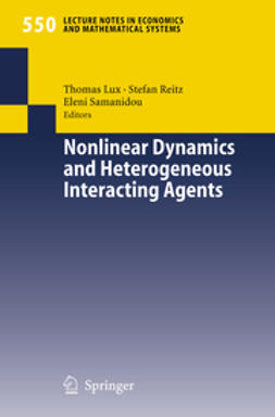 Lux, Thomas - Nonlinear Dynamics and Heterogeneous Interacting Agents, ebook