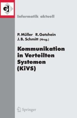 Gotzhein, Reinhard - Kommunikation in Verteilten Systemen (KiVS), ebook