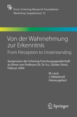Lessl, M. - Von der Wahrnehmung zur Erkenntnis — From Perception to Understanding, ebook