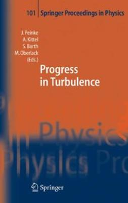 Barth, Stephan - Progress in Turbulence, ebook