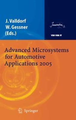 Gessner, Wolfgang - Advanced Microsystems for Automotive Applications 2005, e-bok