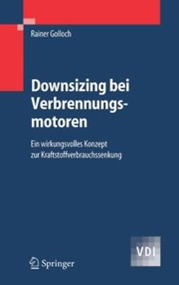 Golloch, Rainer - Downsizing bei Verbrennungsmotoren, ebook