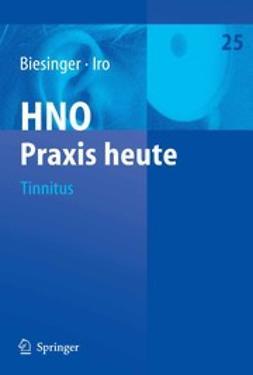 Biesinger, Eberhard - Tinnitus, ebook