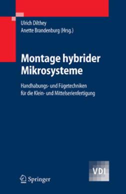 Brandenburg, Anette - Montage hybrider Mikrosysteme, ebook