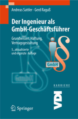 - Der Ingenieur als GmbH-Geschäftsführer, ebook