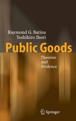 Batina, Raymond G. - Public Goods, ebook