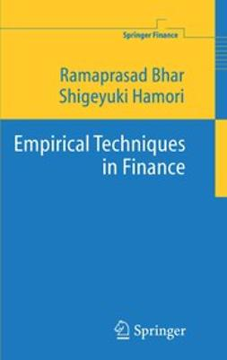 Bhar, Ramaprasad - Empirical Techniques in Finance, ebook
