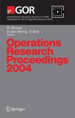 Fleuren, Hein - Operations Research Proceedings 2004, e-bok