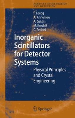 Annenkov, Alexander - Inorganic Scintillators for Detector Systems, ebook
