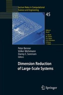 Benner, Peter - Dimension Reduction of Large-Scale Systems, e-bok