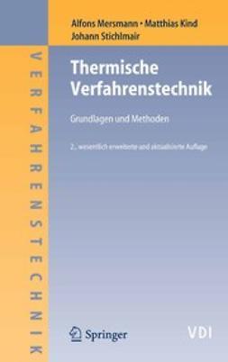 Kind, Matthias - Thermische Verfahrenstechnik, ebook