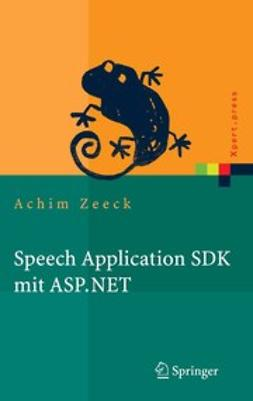 Zeeck, Achim - Speech Application SDK mit ASP.NET, ebook