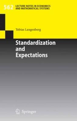 Langenberg, Tobias - Standardization and Expectations, ebook
