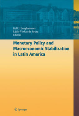 Langhammer, Rolf J. - Monetary Policy and Macroeconomic Stabilization in Latin America, ebook