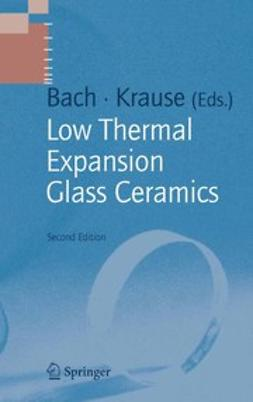 Bach, Hans - Low Thermal Expansion Glass Ceramics, ebook