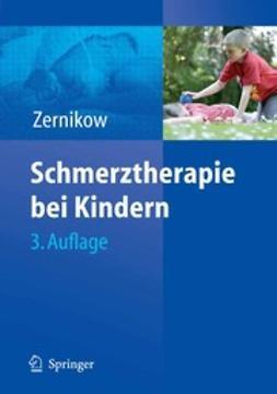 Zernikow, Boris - Schmerztherapie bei Kindern, ebook