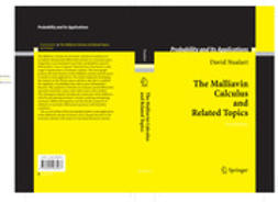 Nualart, David - The Malliavin Calculus and Related Topics, ebook