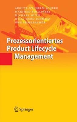 Boczanski, Manfred - Prozessorientiertes Product Lifecycle Management, ebook