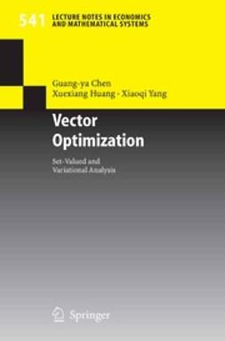 Chen, Guang-ya - Vector Optimization, ebook