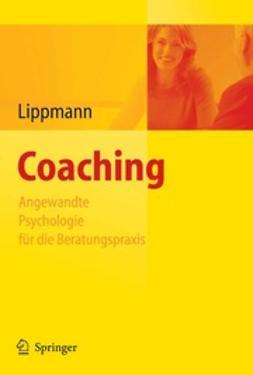 Lippmann, Eric - Coaching, e-kirja