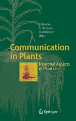 Baluška, František - Communication in Plants, ebook