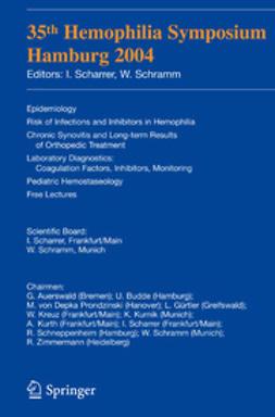 Scharrer, Inge - 35th Hemophilia Symposium, e-bok