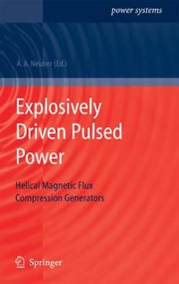 Neuber, Andreas A. - Explosively Driven Pulsed Power, ebook