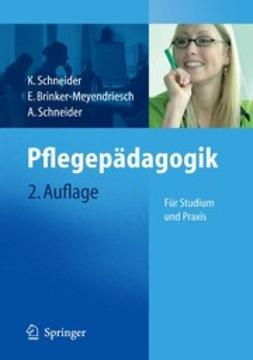 Brinker-Meyendriesch, E. - Pflegepädagogik, ebook