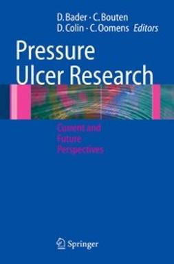 Bader, Dan L. - Pressure Ulcer Research, ebook