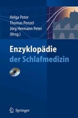 Penzel, Thomas - Enzyklopädie der Schlafmedizin, ebook