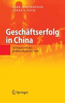Holtbrügge, Dirk - Geschäftserfolg in China, e-kirja