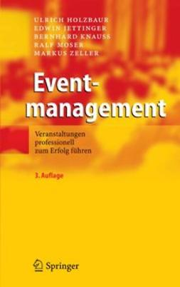 Holzbaur, Ulrich - Eventmanagement, ebook