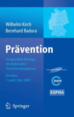 Badura, Bernhard - Prävention, ebook
