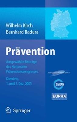 Badura, Bernhard - Prävention, e-kirja