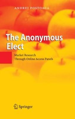 Postoaca, Andrei - The Anonymous Elect, ebook