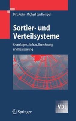 Hompel, Michael - Sortier- und Verteilsysteme, ebook
