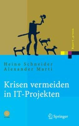 Marti, Alexander - Krisen vermeiden in IT-Projekten, ebook
