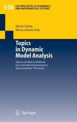 Faliva, Mario - Topics in Dynamic Model Analysis, ebook