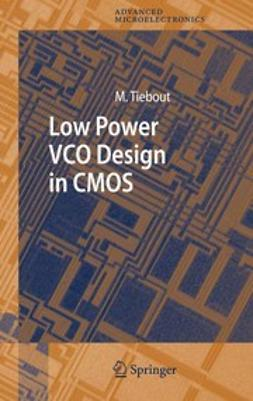 Itoh, Kiyoo - Low Power VCO Design in CMOS, e-kirja