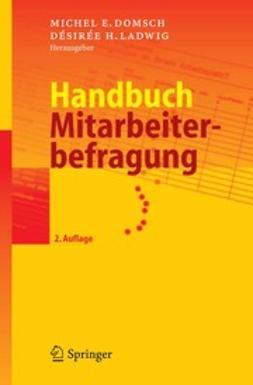 Domsch, Michel E. - Handbuch Mitarbeiterbefragung, e-kirja