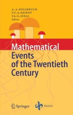 Arnold, V. I. - Mathematical Events of the Twentieth Century, ebook
