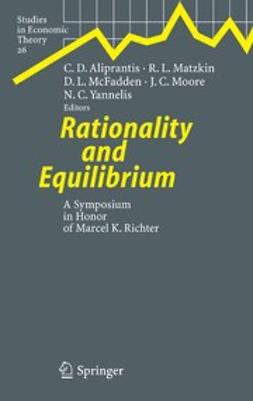 Aliprantis, Charalambos D. - Rationality and Equilibrium, ebook