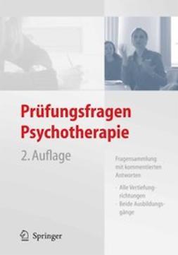 - Prüfungsfragen Psychotherapie, ebook