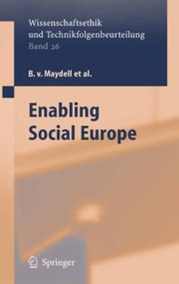 Borchardt, K. - Enabling Social Policy, ebook