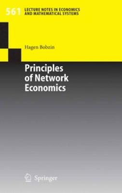 Bobzin, Hagen - Principles of Network Economics, ebook